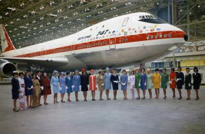 Boeing 747-121 RA001 'City of Everett' Rollout