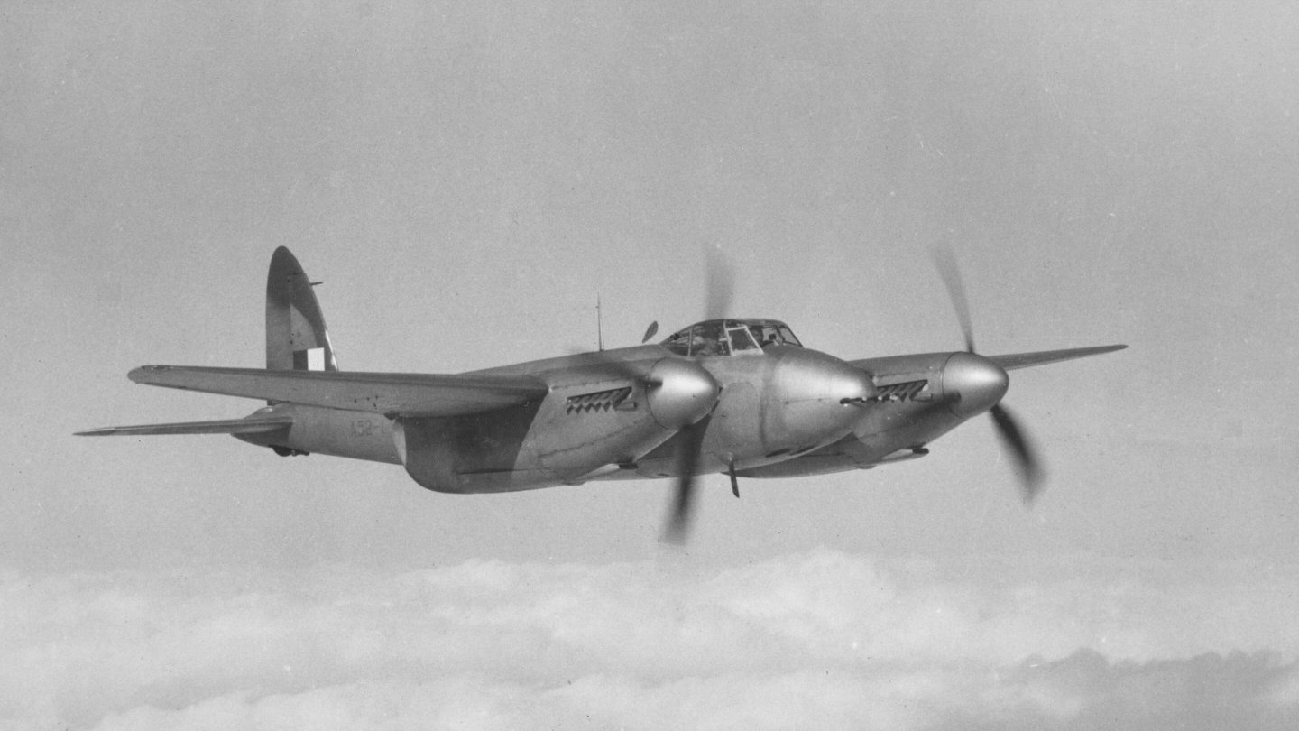 DH98 Mosquito FB.40 (A52-1) - 1st Australian Mosquito built 1941 [Photo: BAE Systems]