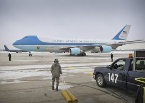 USAF Boeing 747-200B VC-25A AF1 Wisconsin ANG