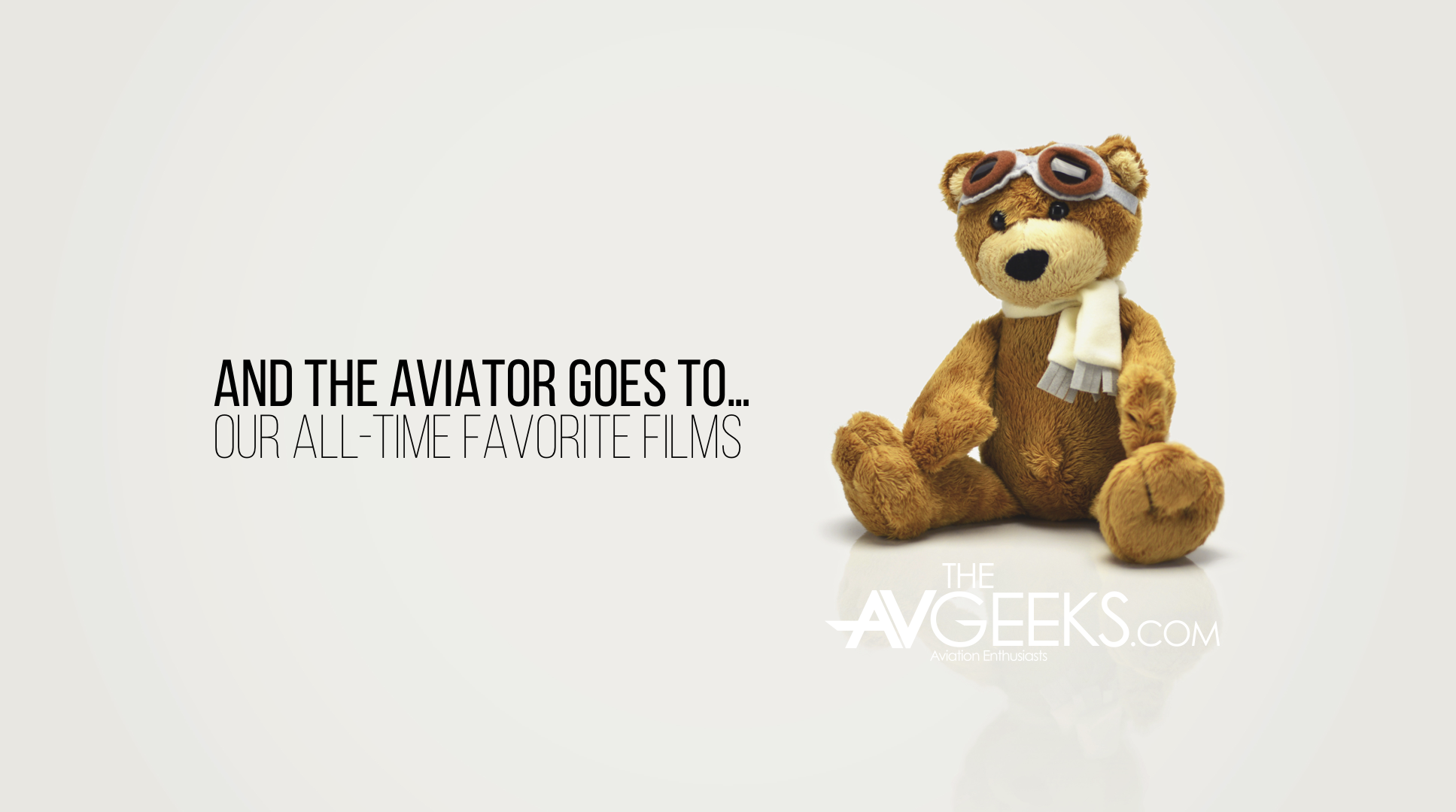 And the Aviator Goes to...