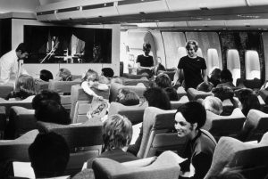 BOAC Boeing 747 Cabin Interior Movie
