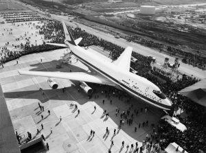 Boeing 747 RA001 Rollout
