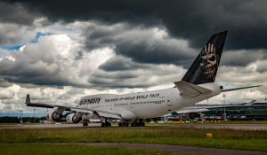 Air Atlanta Icelandic Boeing 747-428 TF-AAK Special Livery Iron Maiden 'Ed Force One'