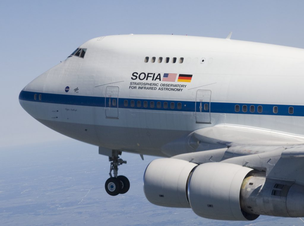 SOFIA 747SP NASA