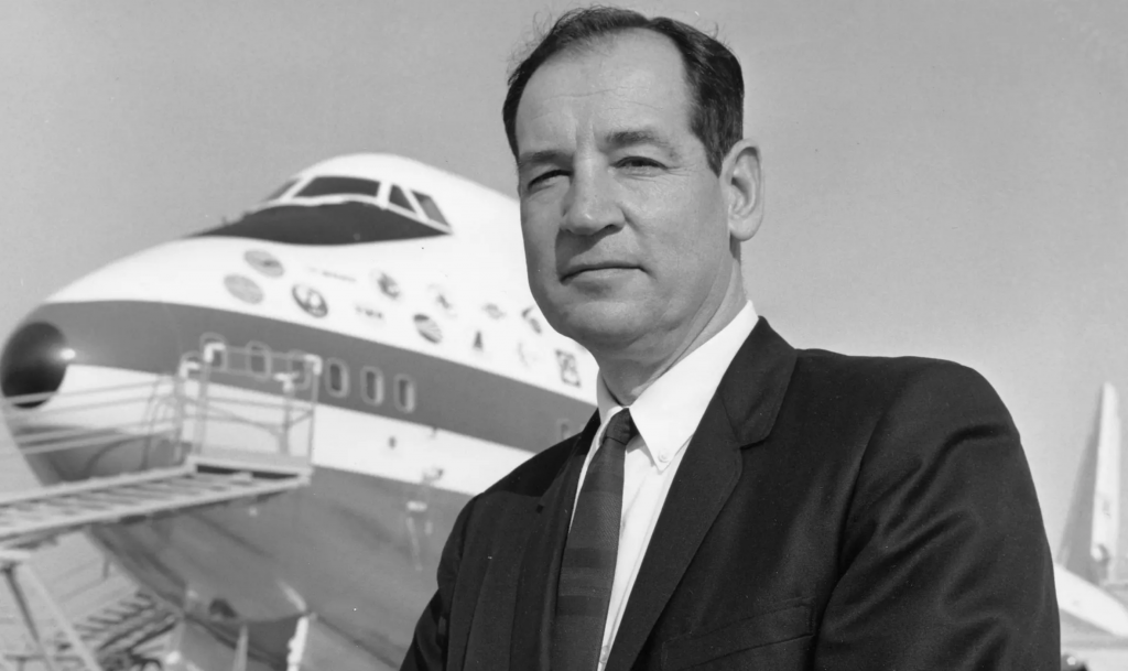 Joe Sutter RA001 Boeing 747 (Photo: Boeing) Cropped