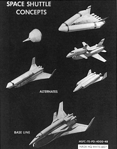 Space Shuttle Concepts NASA