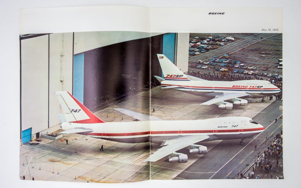 The Boeing 747SP Report at Rollout May 1975 - Tom Harris Collection