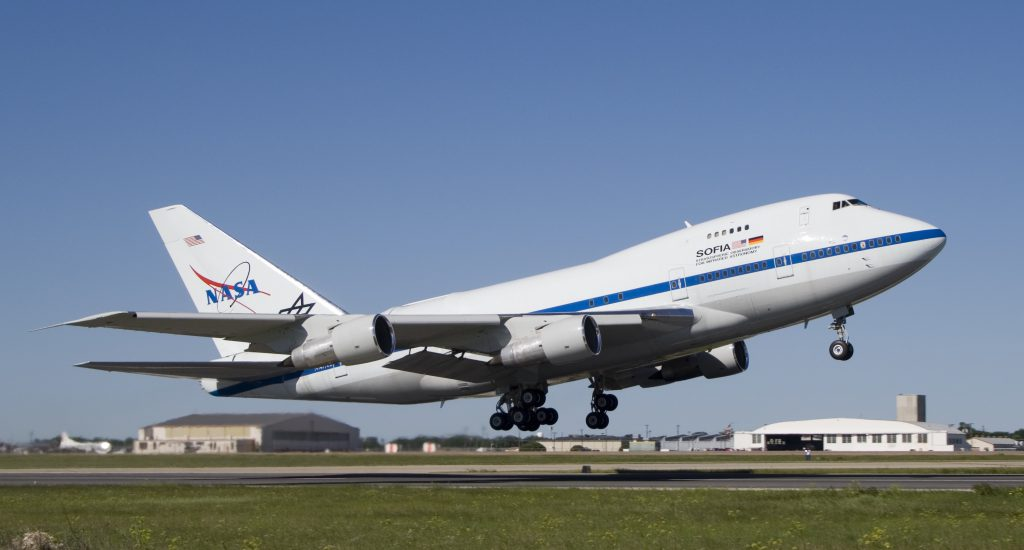 NASA SOFIA 747-SP21
