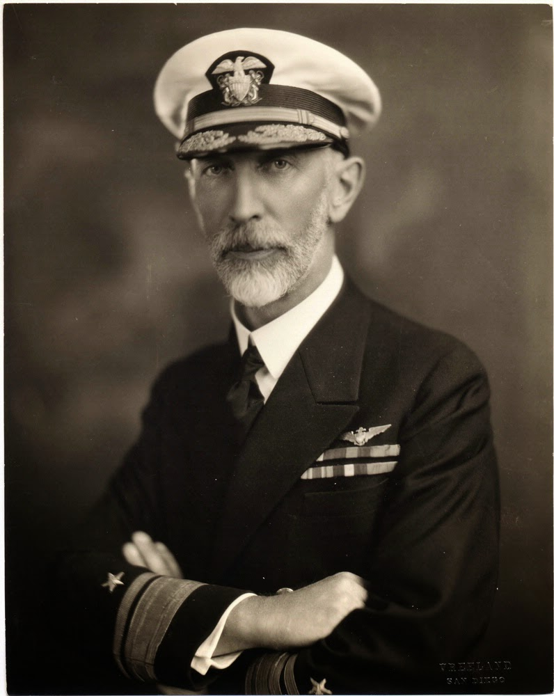 US Navy Admiral Joseph M Reeves
