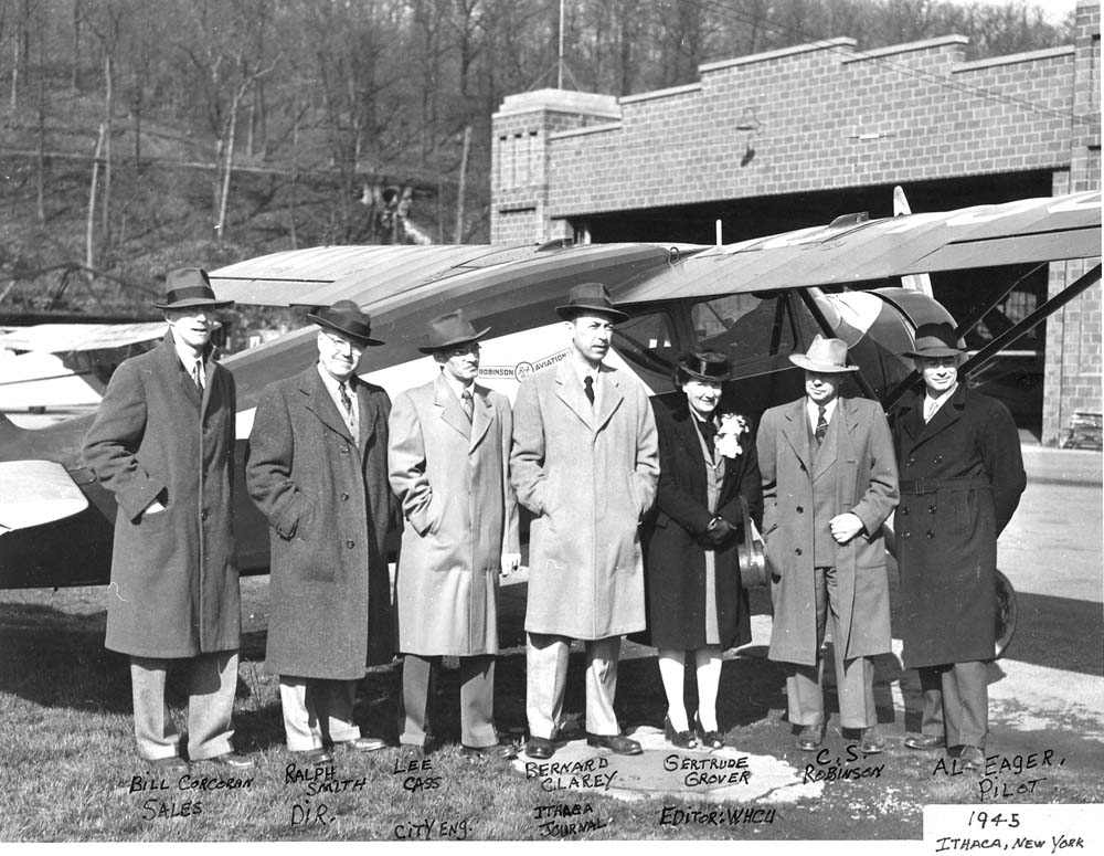 Robinson Aviation in Ithaca, 1945